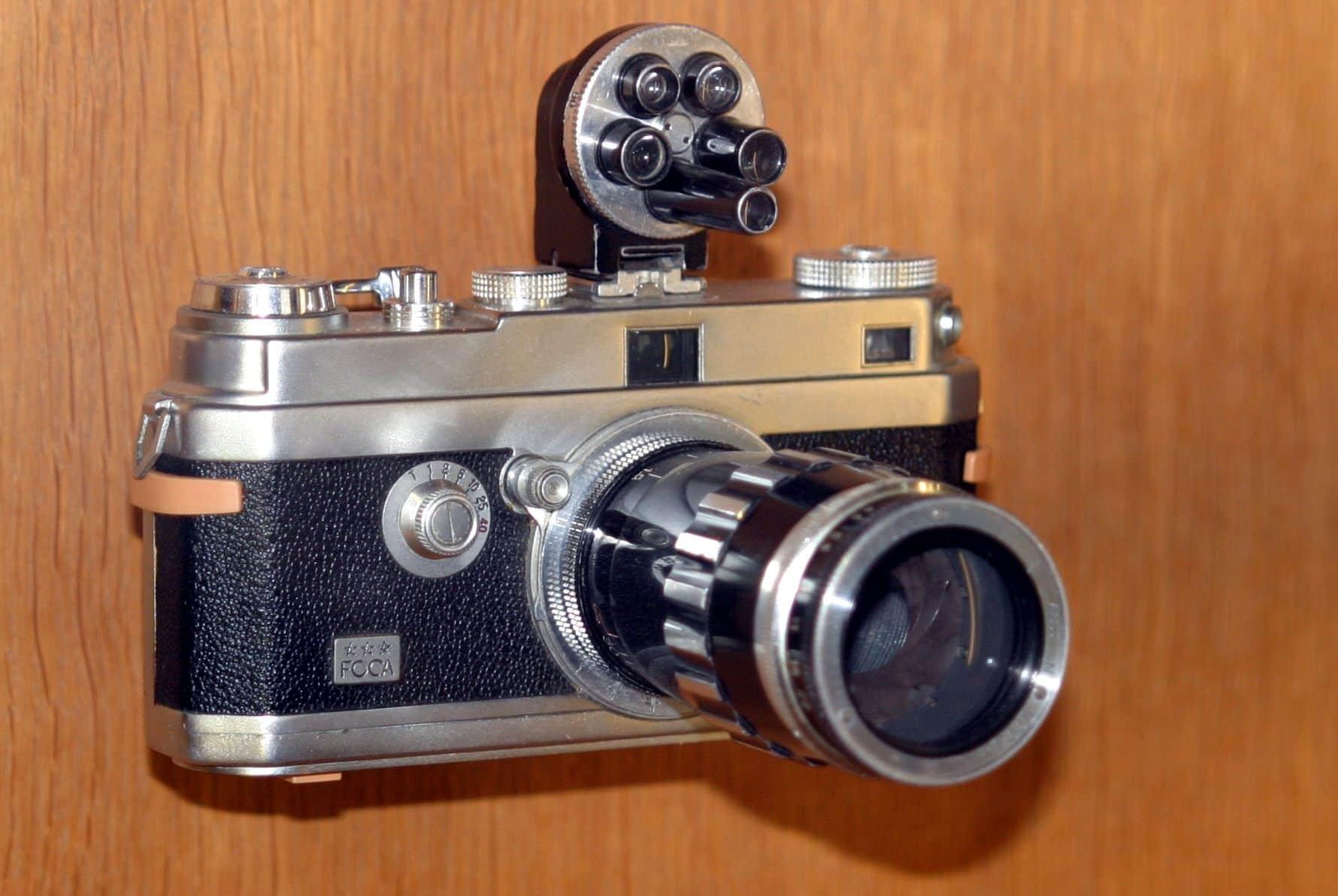 Cámara de fotos réflex