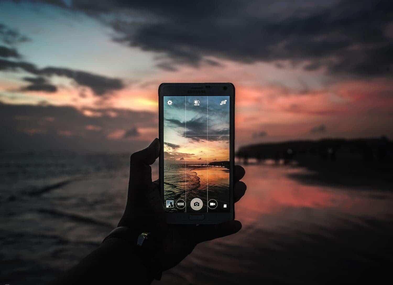 fotografía móvil