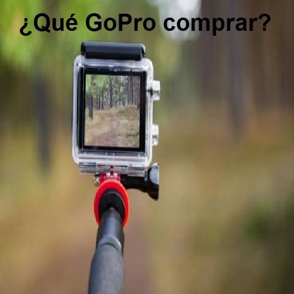 Qué GoPro comprar